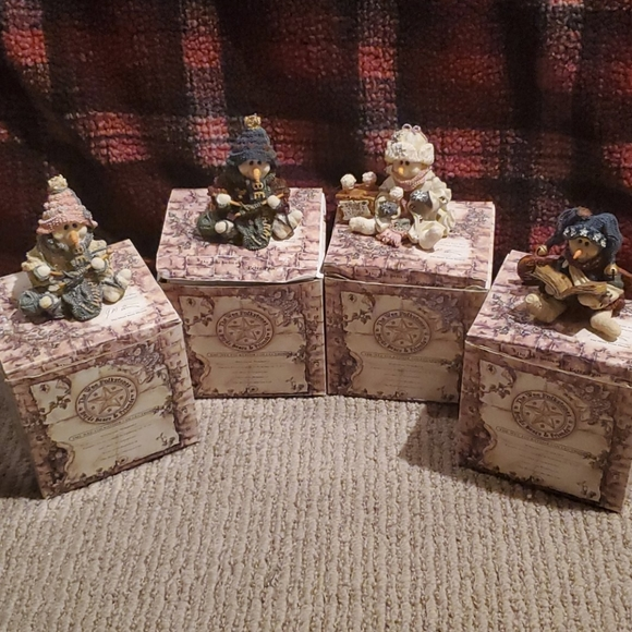 Boyds Bears Wee Folkestone Collection